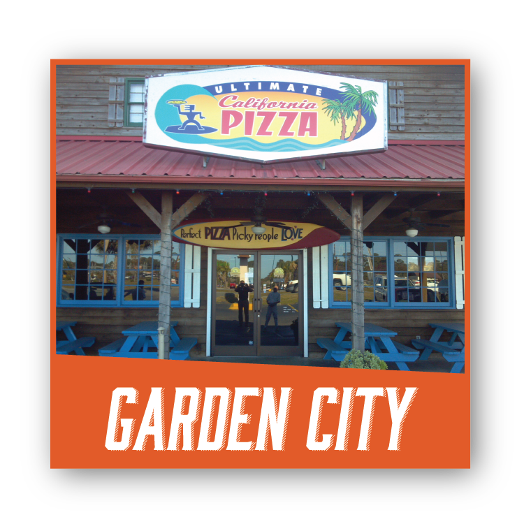California pizza garden city 28 images front of Garden city pizza