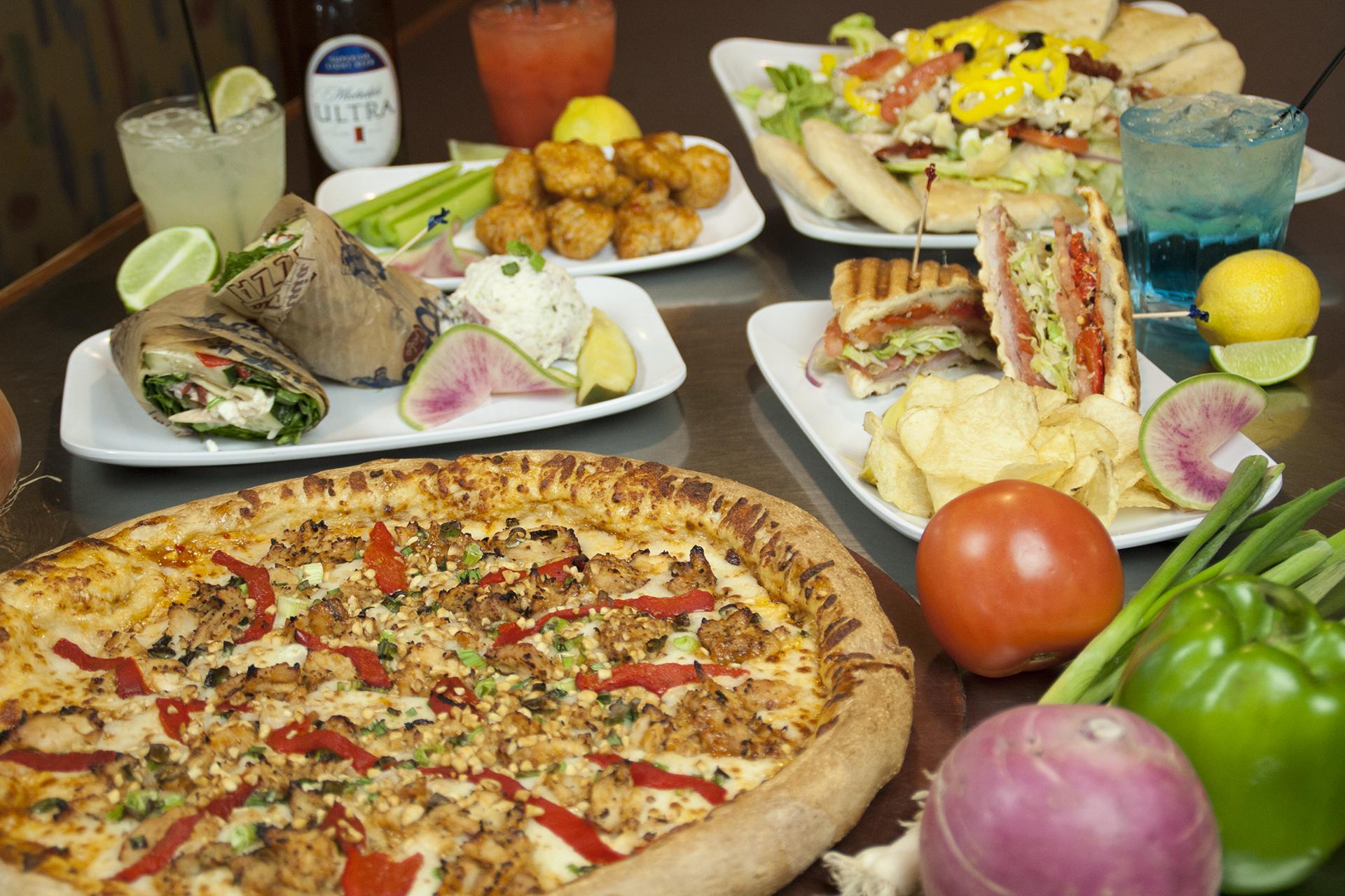 Full Menu | Ultimate California Pizza in Myrtle Beach